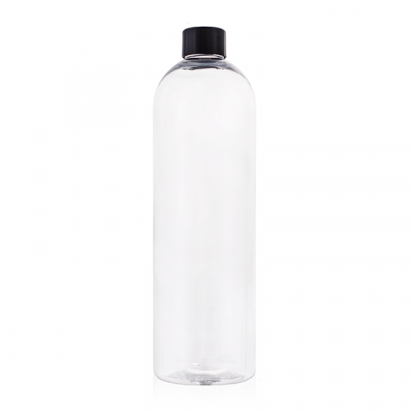 Butelka PET 500 ml transparentna z nakrętką