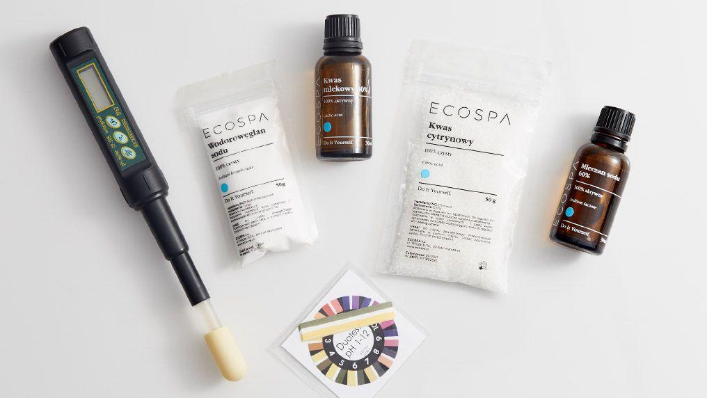 Jak regulować pH kosmetyków DIY?