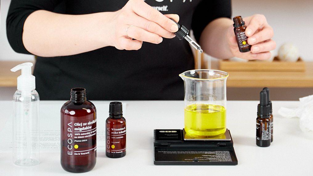 Jak zrobić naturalne oliwki i olejki do ciała DIY