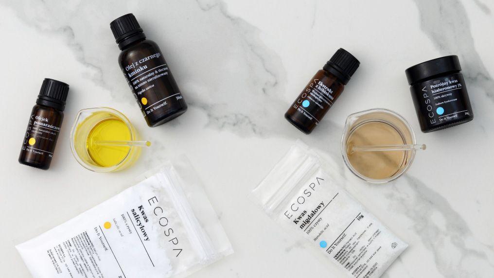 Jak zrobić kosmetyki naturalne w domu? - MIESZANIE