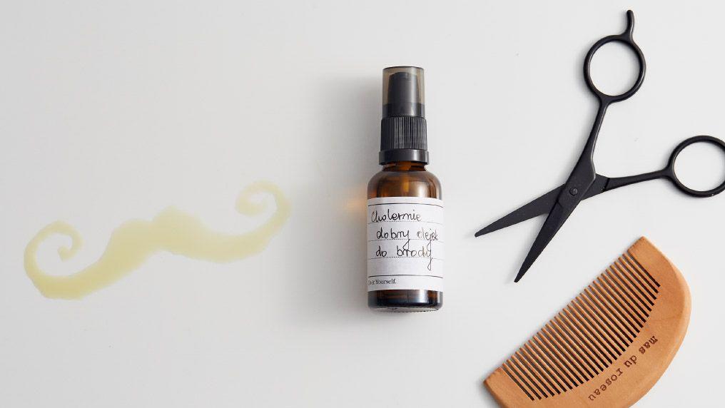 Jak zrobić olejek do brody DIY?