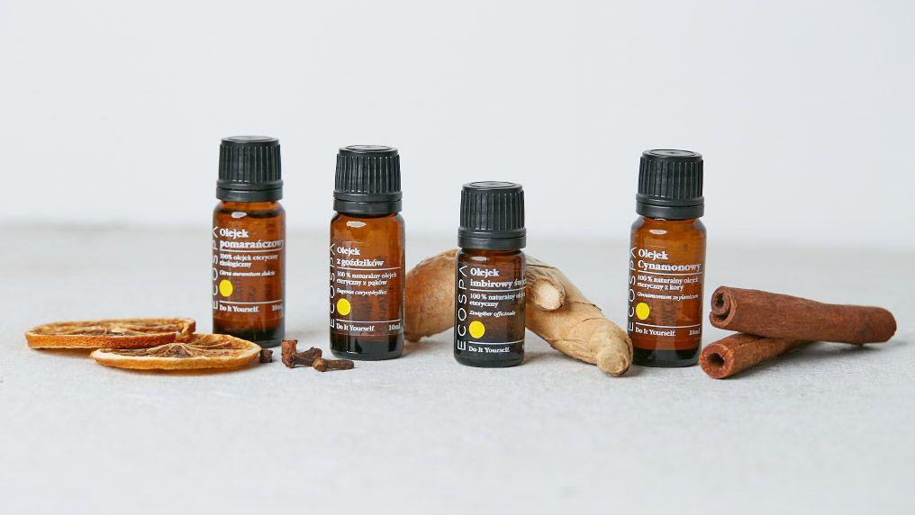 Aromaterapia zimą - 10 najlepszych olejków eterycznych na zimę.