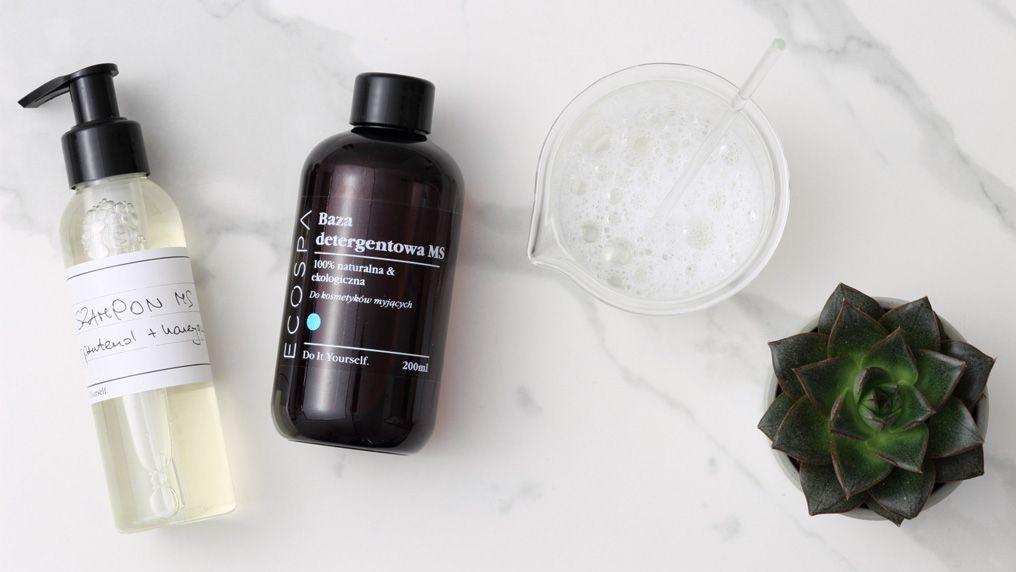Jak zrobić naturalne szampony z bazy detergentowej MS