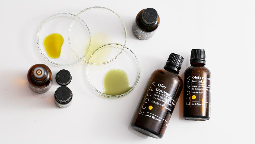 Najlepsze oleje i olejki eteryczne do cery tłustej i trądzikowej