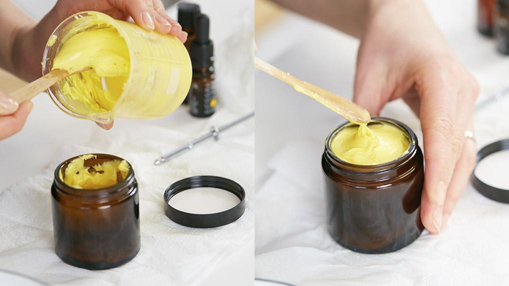 Масло для тела своими руками готово
